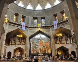 DAY 3 - MT. TABOR, CANA, NAZARETH, BASILICA OF THE ANNUNCIATION